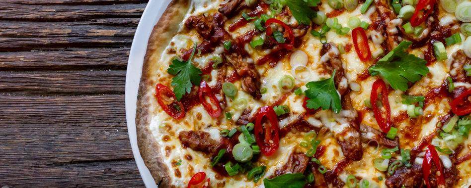 Bannock pizza for Winterlicious in Toronto
