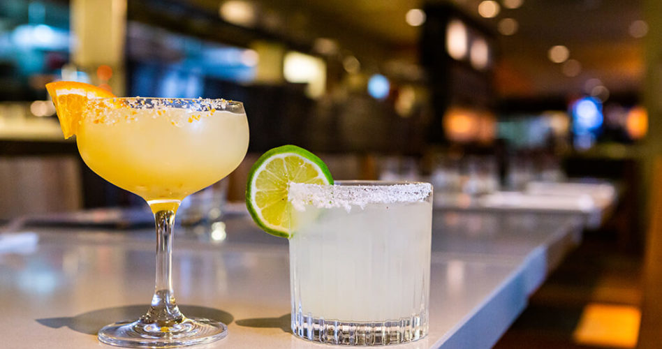 Tequila Tuesdays - Two Bannock Margaritas side by side